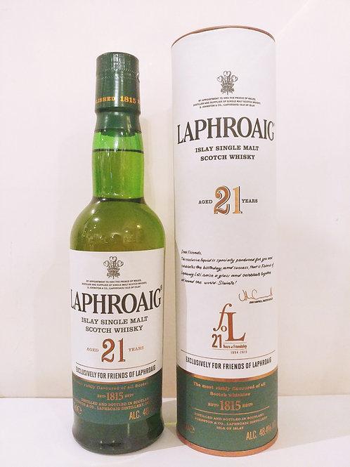 Laphroaig 21yo for Friends of Laphroaig