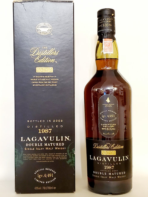 Lagavulin Distillers Edition 1987