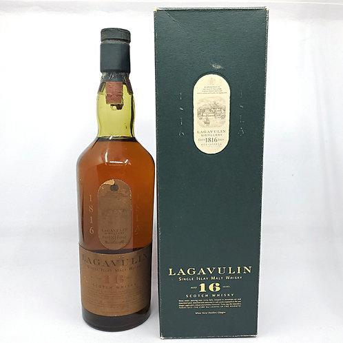 Lagavulin 16yo White Horse Distillers (金字 with box. 750ml Italian import))