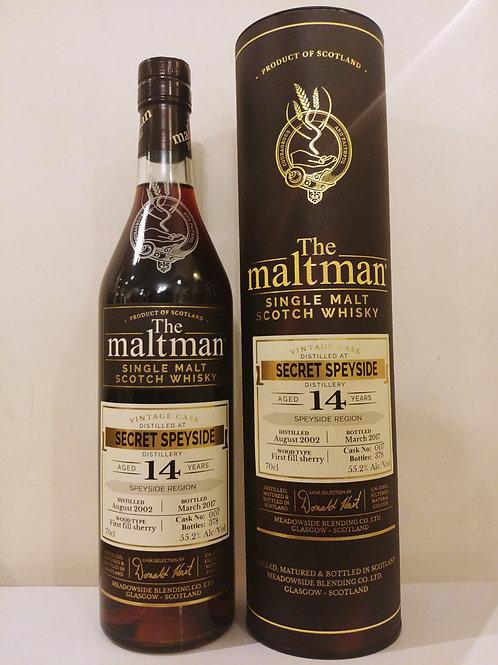 Maltman Secret Speyside 14yo Cask#007