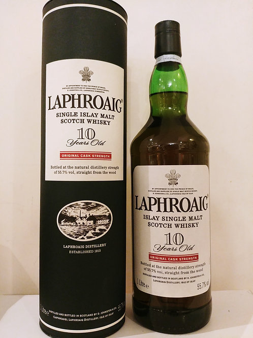 Laphroaig 10yo Original Cask Strength (1L)