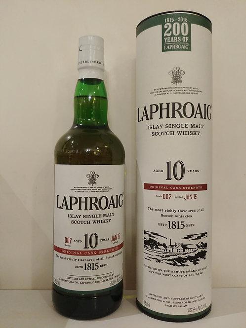 Laphroaig Cask Strength Batch 007 (US VERSION)