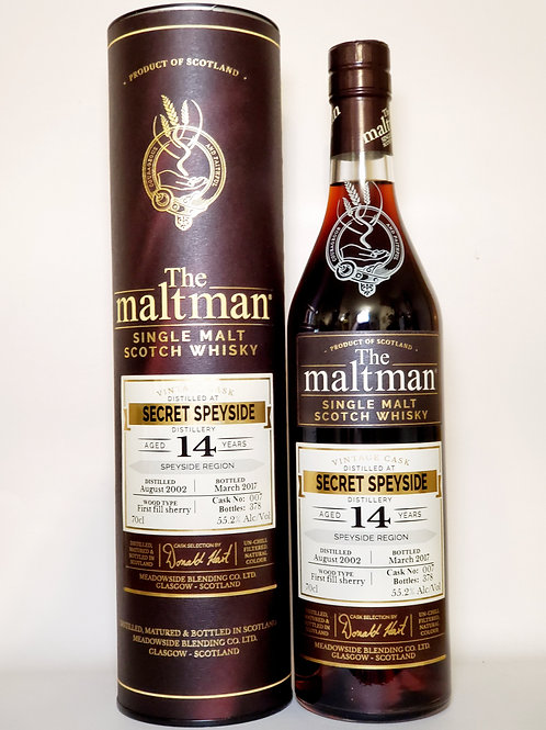Maltman Secret Speyside (Macallan) 14yo Cask#007