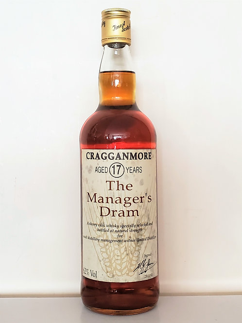 Cragganmore - The Manager's Dram