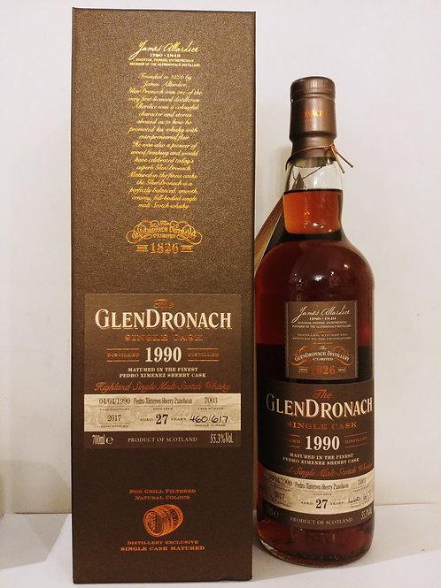 Glendronach 1990 27yo #7003