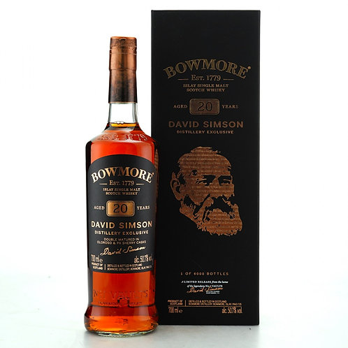 Bowmore 20yo Doublematured in Oloroso & PX Casks