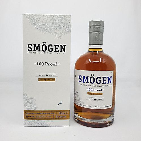 [WF91]Smögen 6 yo '100 proof' (57.1%, OB, Sweden, sherry quarter cask, 2020)