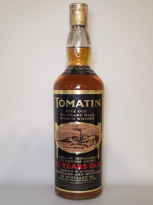 Tomatin 10 years old (old bottling, Italian Import)