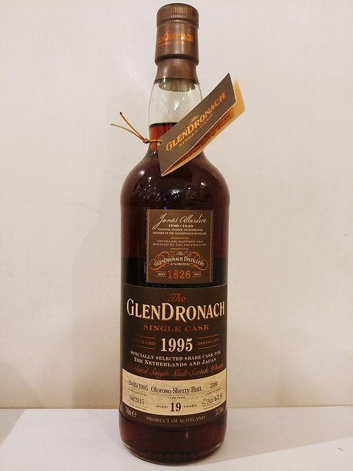 Glendronach 1995 19yo Selected for Japan and Netherlands