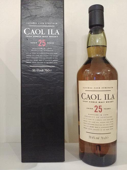 Caol ila 1979 25yo Cask Strength OB