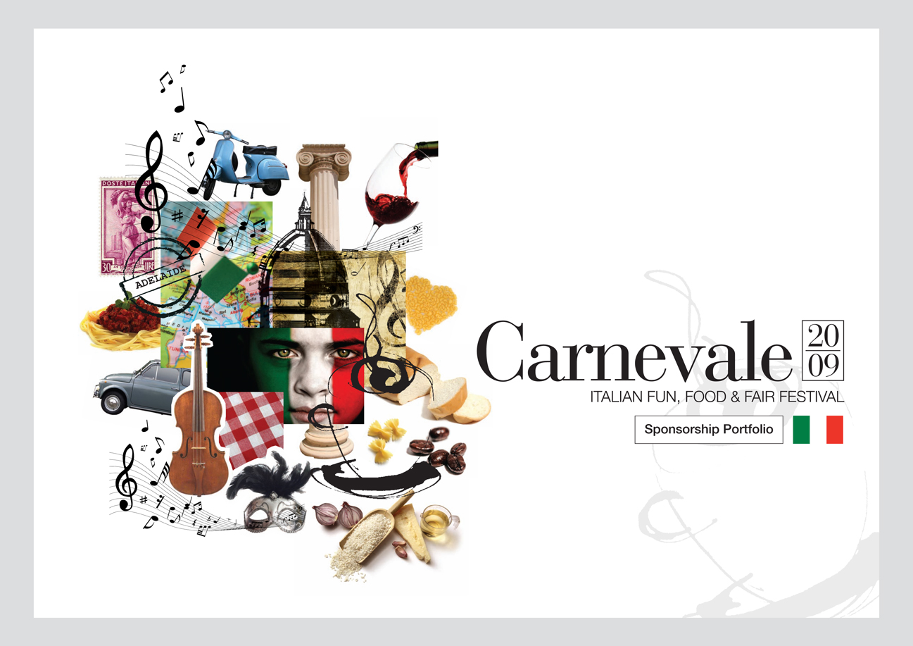 CARNEVALE COVER WITH GREY