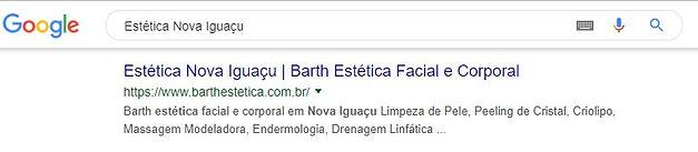 Cliente Barth Estética