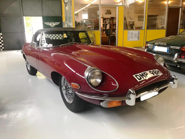 Jaguar E Type 4.2 Spider