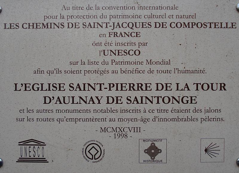 Les amis de l'église d'Aulnay de Saintonge