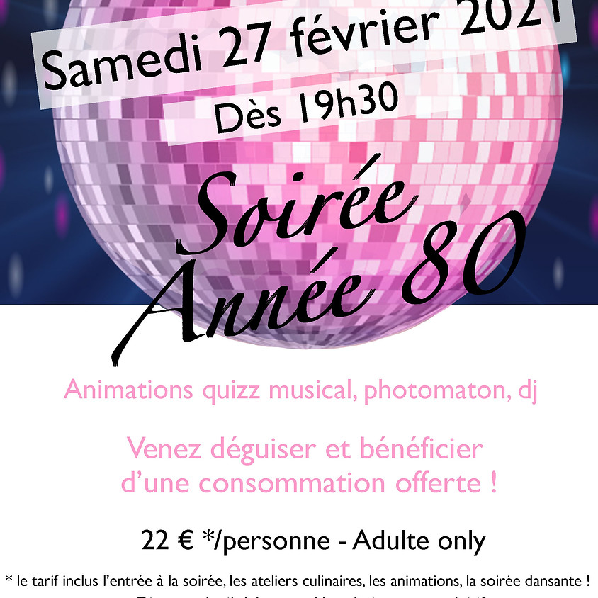 SOIREE ANNEE 80