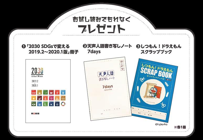 SDGs 天声人語書き写しノート ドラえもんスクラップブック