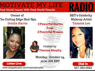 Listen Now! D and Tam on Motivate My Life Radio Show