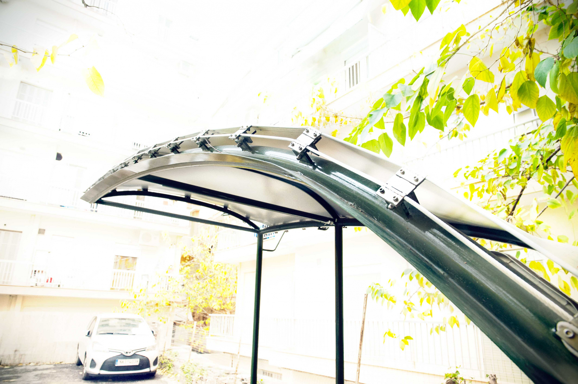 light, tensile canopy