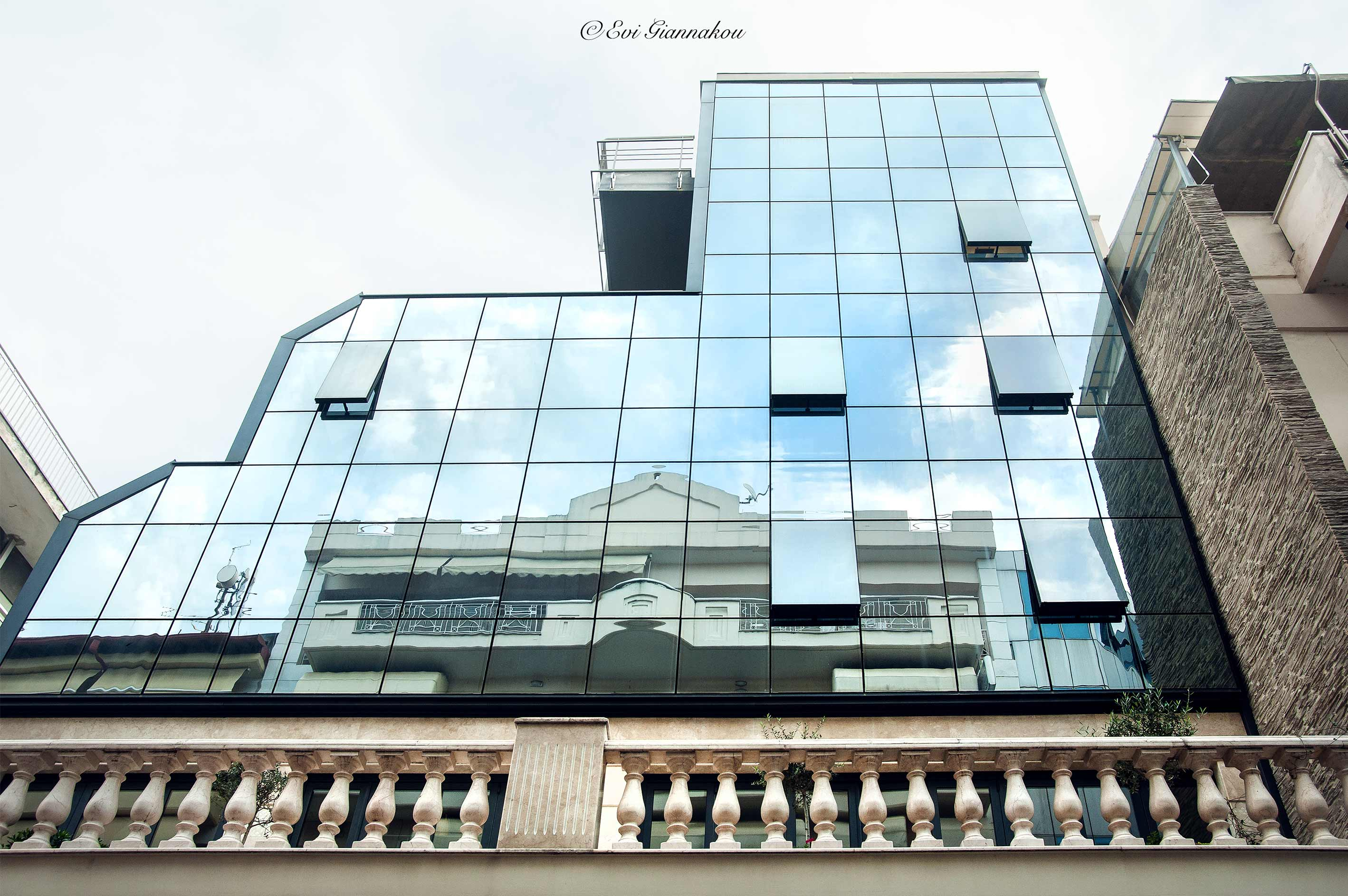 Katerini all glass facade