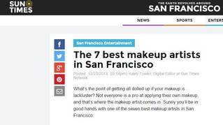 Best 7 makeup artists of San Francisco