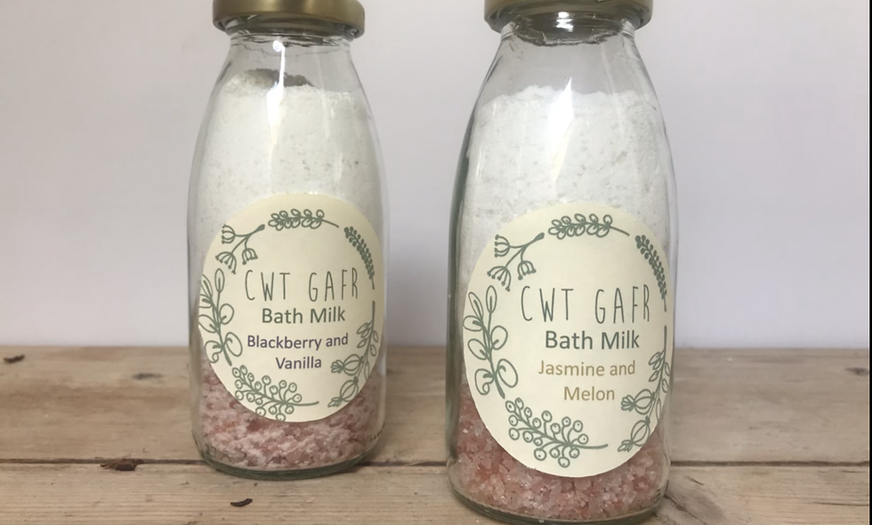 Bath Milk and Salts