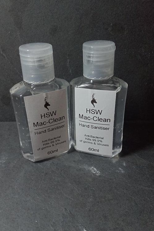 60ml Hand Sanitiser (15 Bottles)
