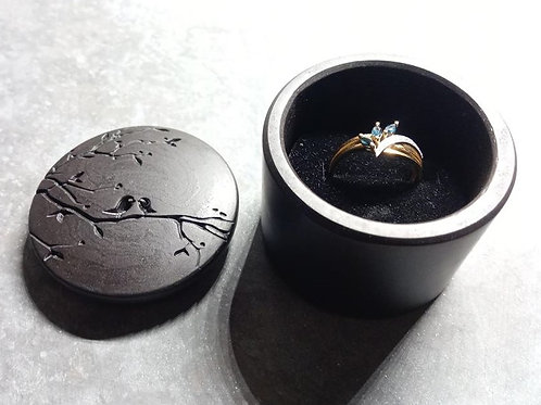 Engraved Ring Box