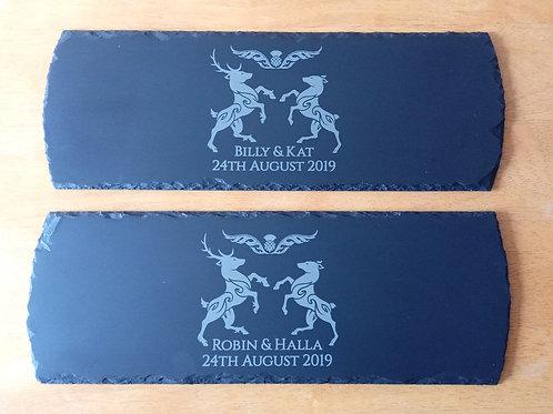 Laser Engraved Platter 150mm x 410mm