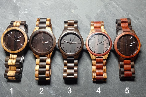 Stag Head Wooden Watches