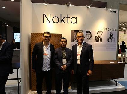 NOKTA Furniture with Japanese designer Michio Anazawa