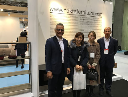 TANA Series launched at NOKTA Furniture Booth IFFT 2017