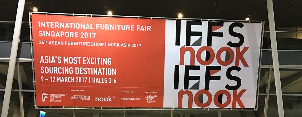 Nokta Furniture at International Furniutre Fair Singapore IFFS 2017