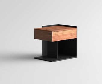 2018 10 12 ESSIMETRI Side Table Walnut R