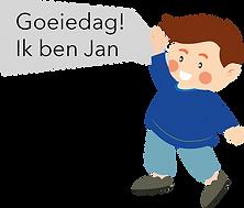 Personnage Bilingual néerlandais Jan