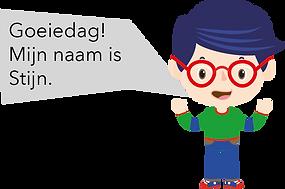 Personnage Bilingual néerlandais Stijn