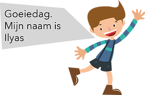 Personnage Bilingual néerlandais Ilyas
