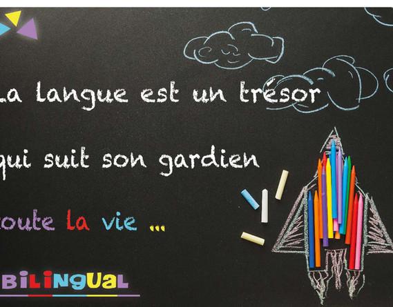 Bilingual Quote