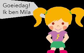 Personnage Bilingual néerlandais Mila