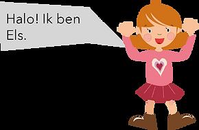 Personnage Bilingual néerlandais Els