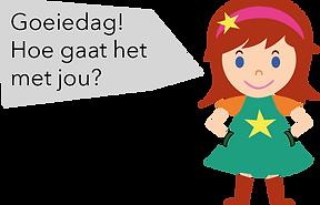 Personnage Bilingual néerlandais Inge