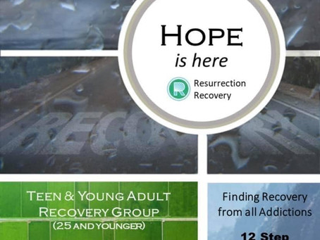 Teen and Young Adult Recovery Meetings
