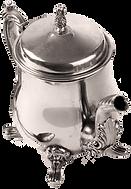 Antique Silver Kettle