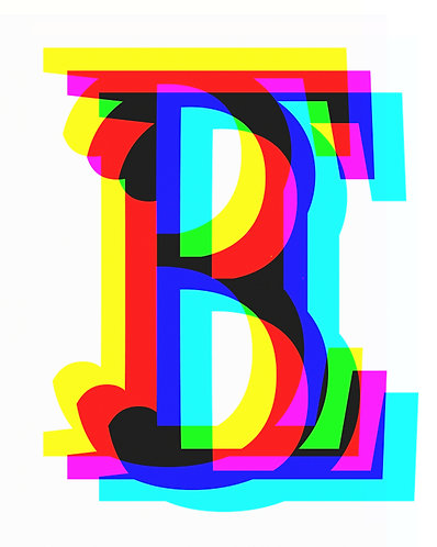 E, 3 Letter forms