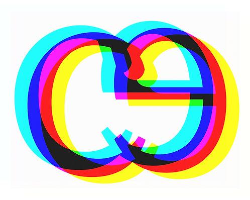 e, c Letter forms