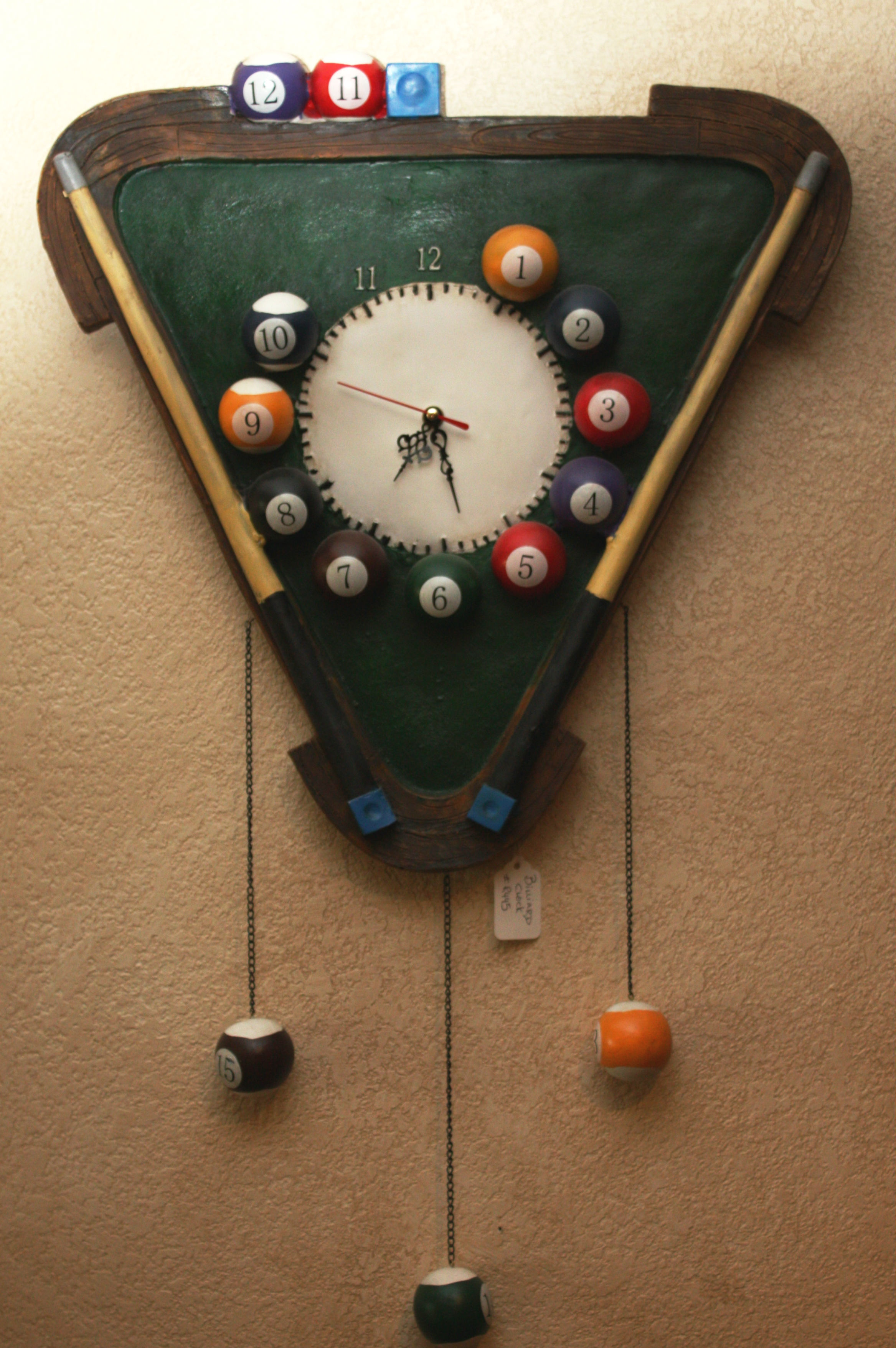 ART17: BILLIARDS CLOCK