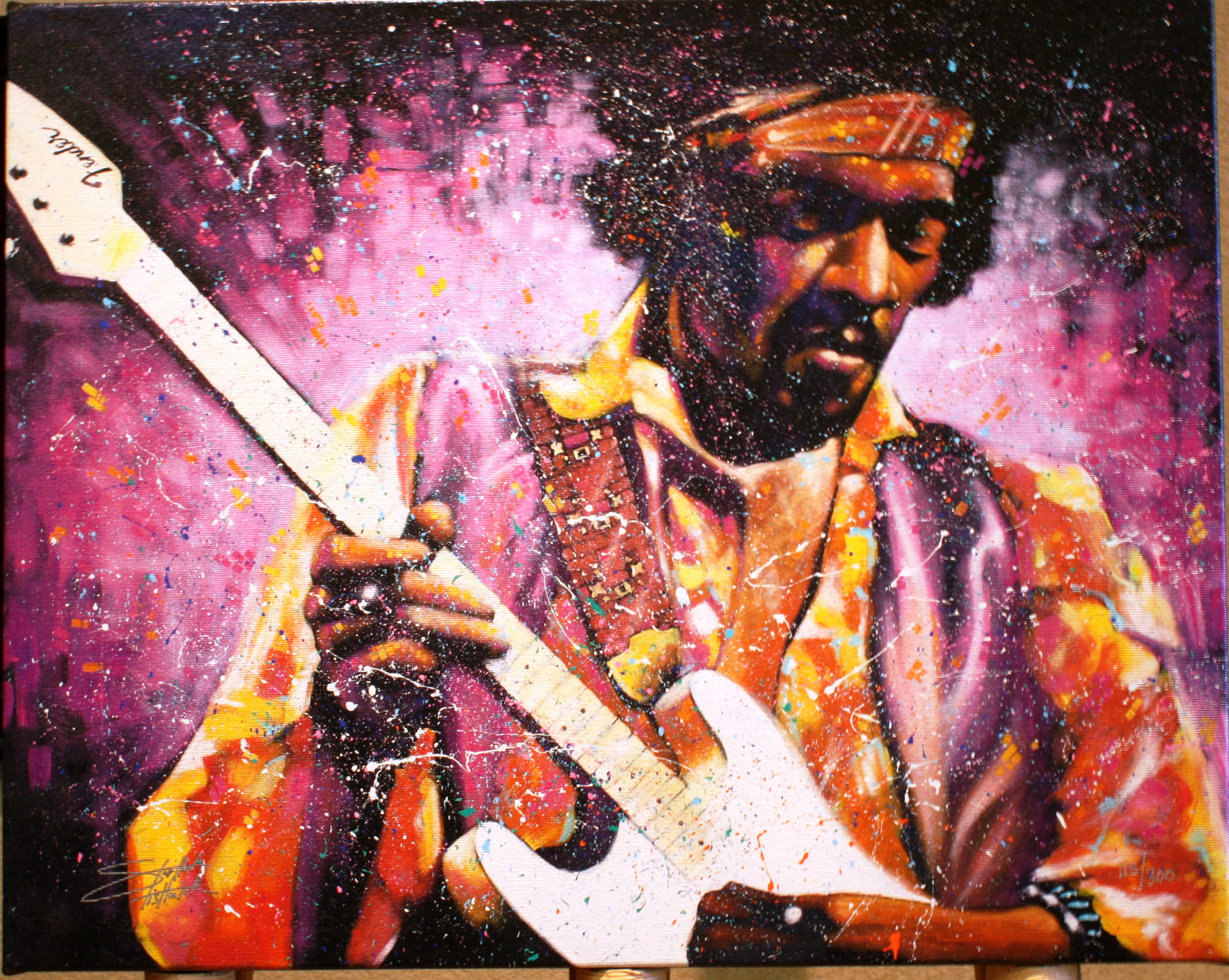 ART6 JIMI HENDRIX by STEPHEN FISWICK