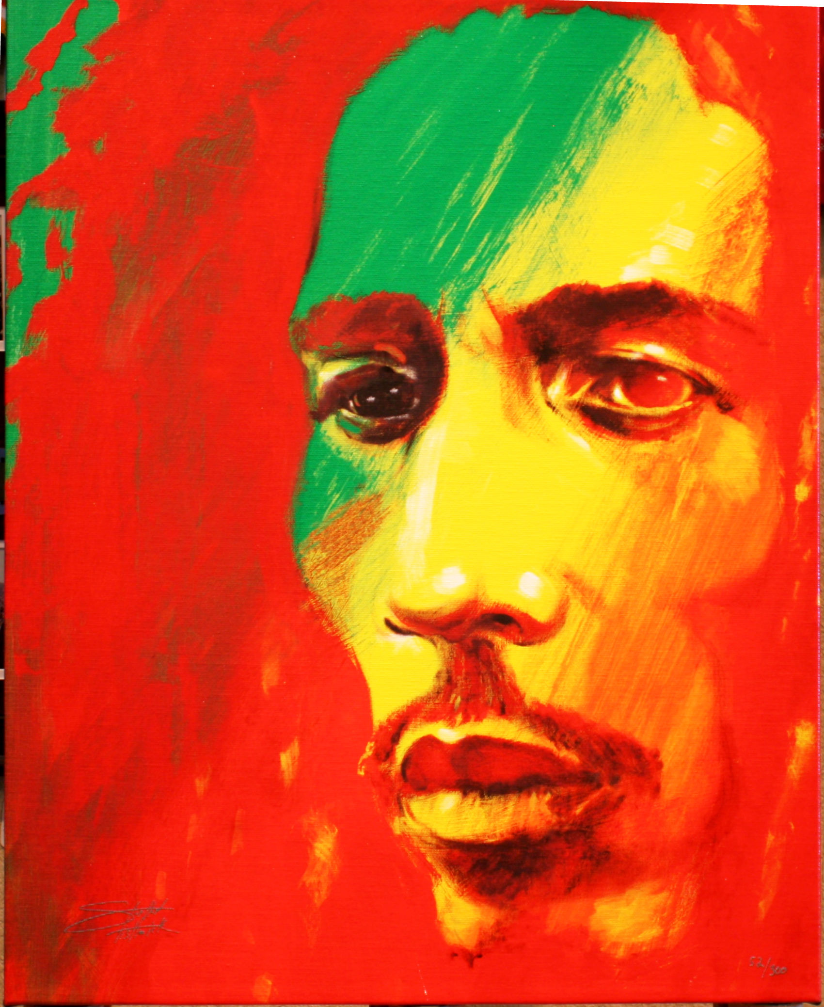 ART5: BOB MARLEY by STEPHEN FISWICK