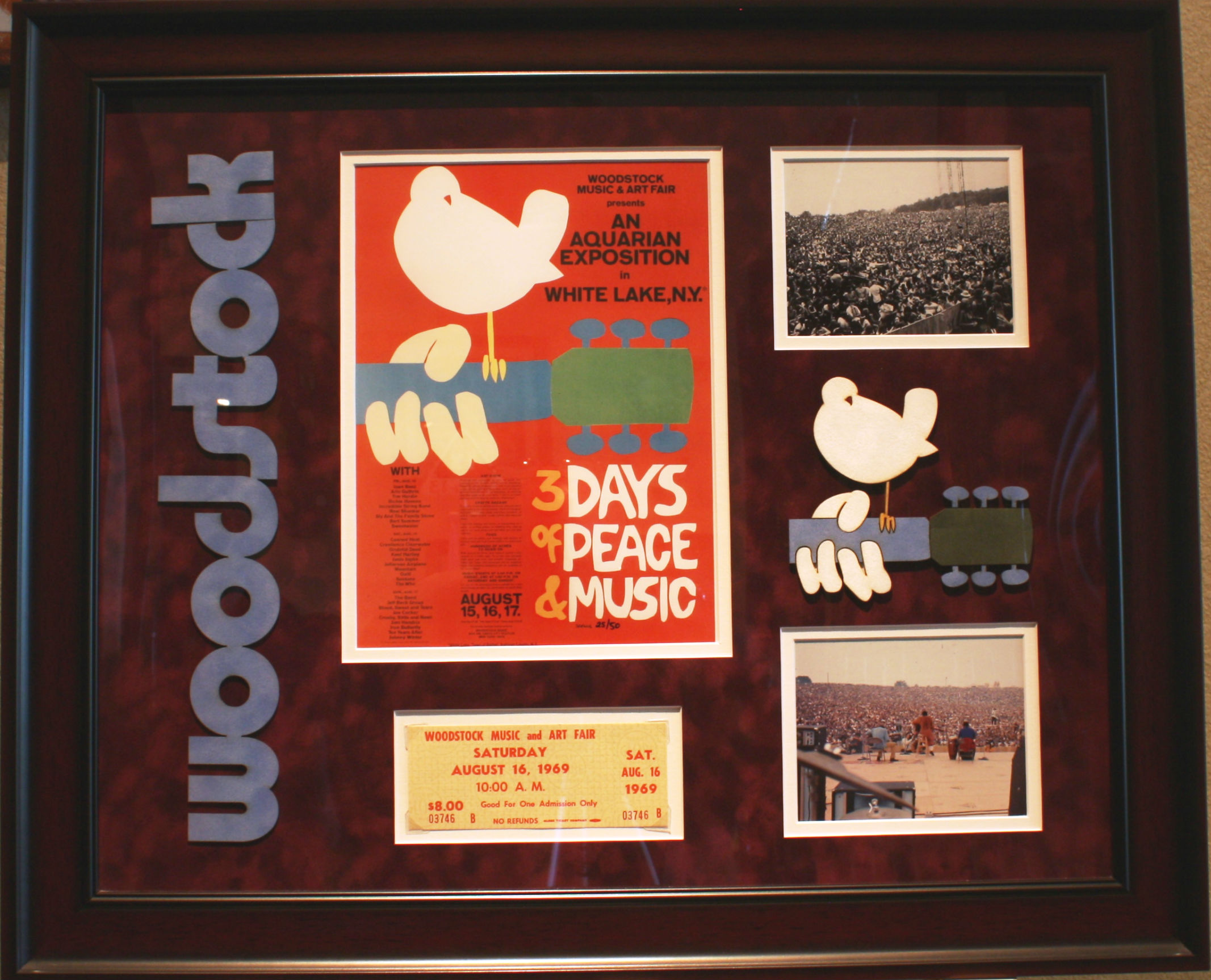 ART8: WOODSTOCK COLLAGE