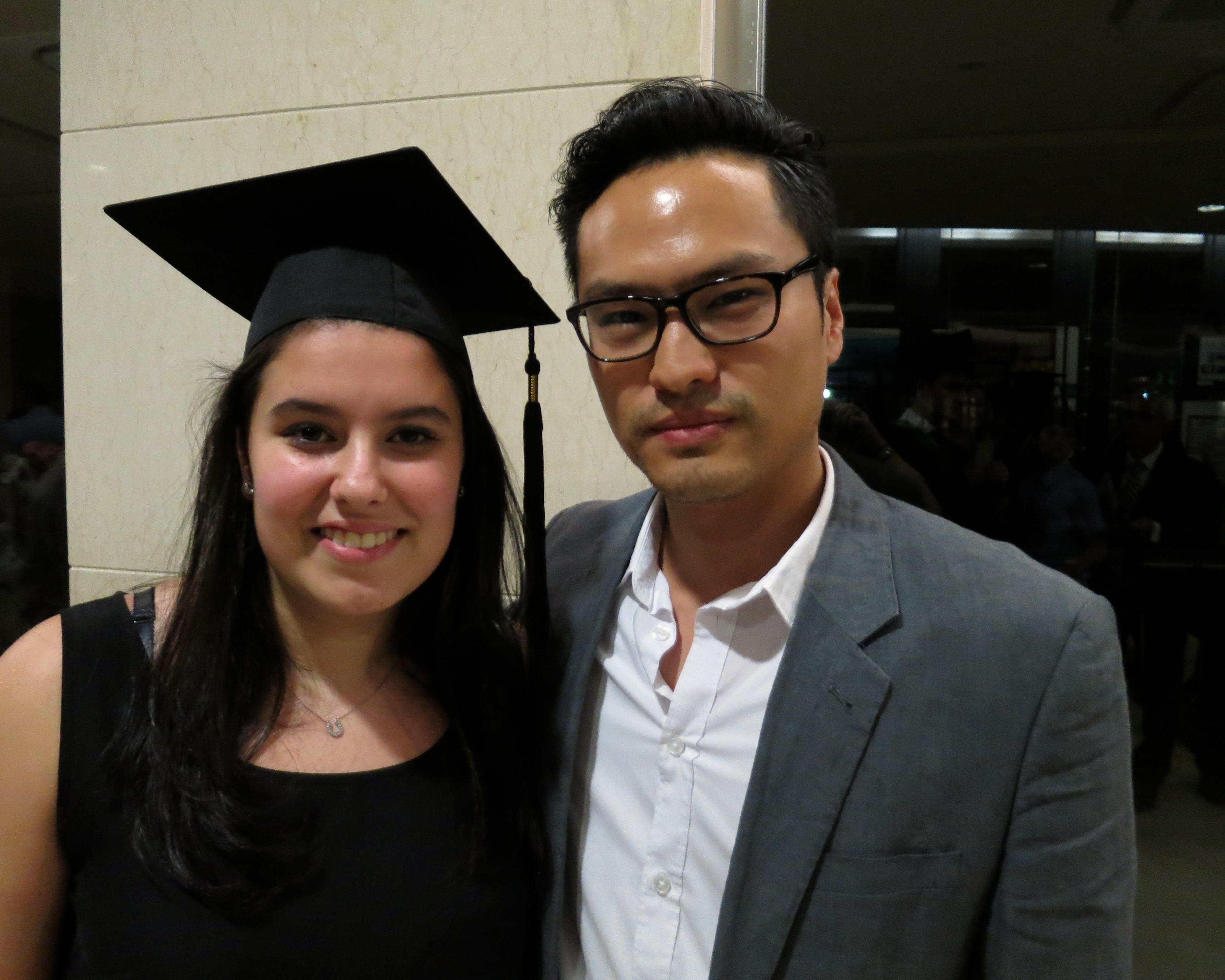 Tutor Ken with Luana Elia