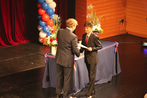 Ricky Tang graduation